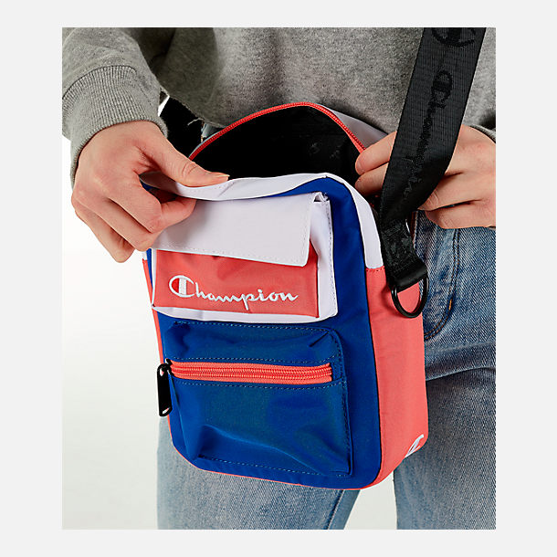 Alternate view of Champion Colorblock Crossbody Bag in Bright Combo