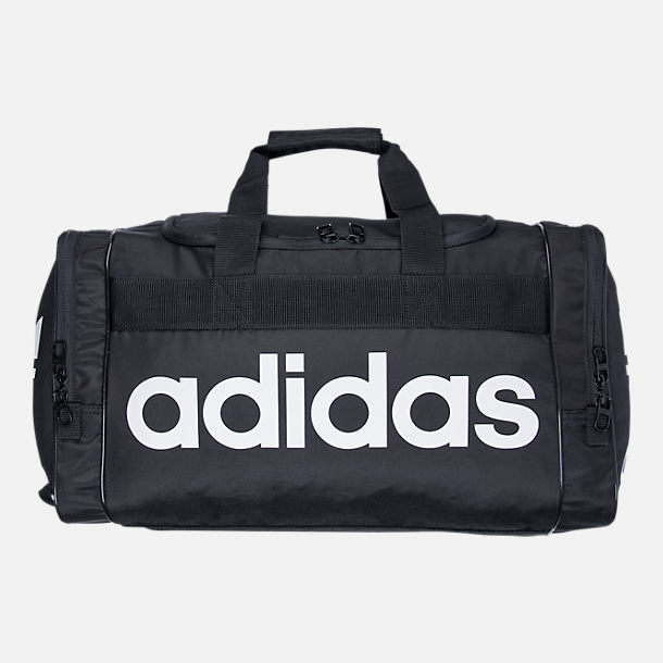 Back view of adidas Originals Santiago Duffel Bag in Black