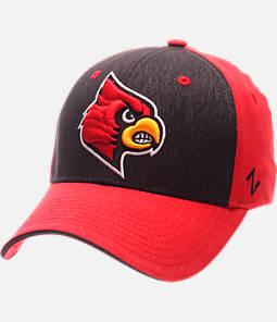 Zephyr Louisville Cardinals College Challenger Stretch Fit Hat