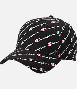 Champion Allover Print Classic Twill Snapback Hat