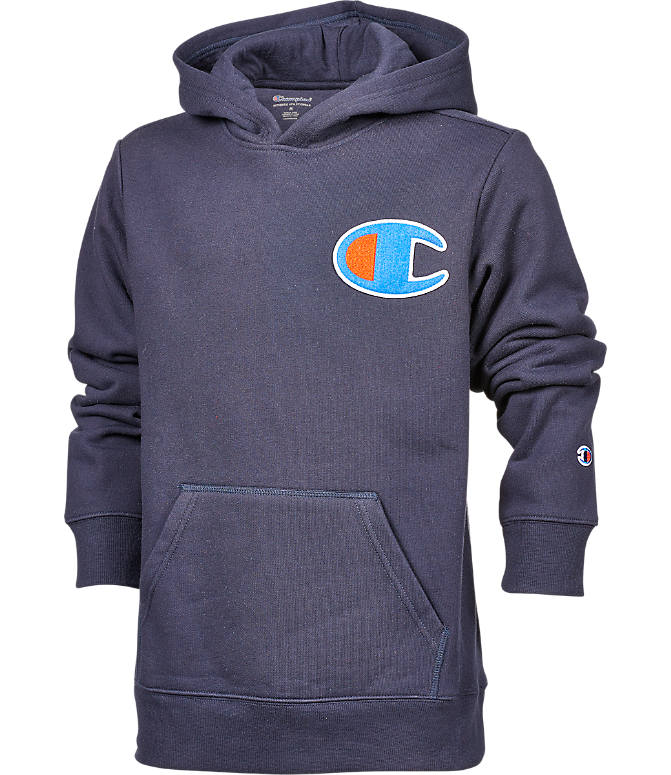 Front view of Boys' Champion Heritage LBR Hoodie