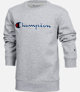 Kids' Champion Heritage Crew Sweatshirt Product Image