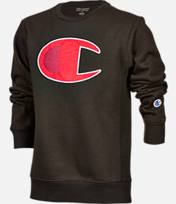 Kids' Champion Big C Crew Sweatshirt