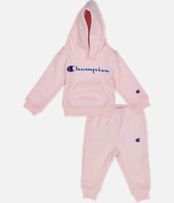 792b457264034c Infant Champion Heritage 2-Piece Hoodie and Joggers Set