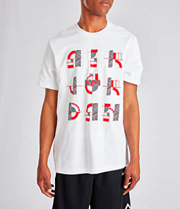 Men's Jordan AJ4 Retro Script T-Shirt