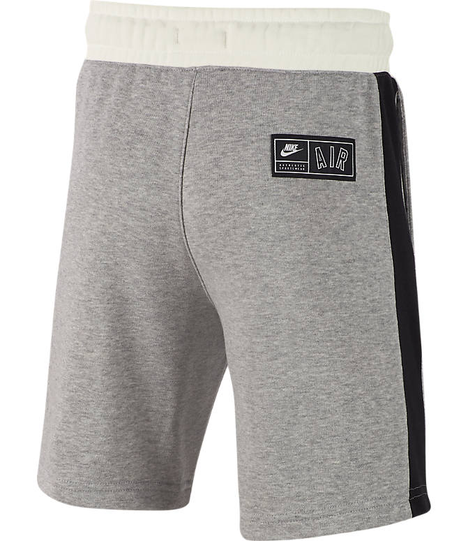 Product 3 view of Boys' Nike Air Shorts in Dark Grey Heather/Sail