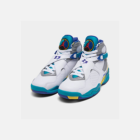 Women's Air Jordan 8 Retro Og Basketball Shoes by Nike