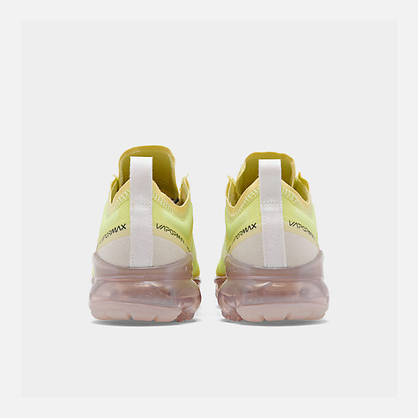 Left view of Women's Nike Air VaporMax 2019 SE Running Shoes in Luminous Green/Phantom/Meta