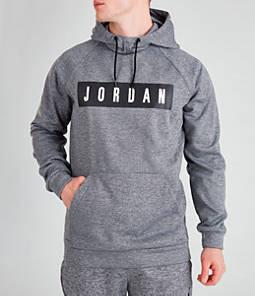 Men's Jordan 23 Alpha Therma Fleece Graphic Hoodie