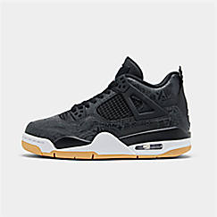 Big Kids' Air Jordan Retro 4 SE Basketball Shoes