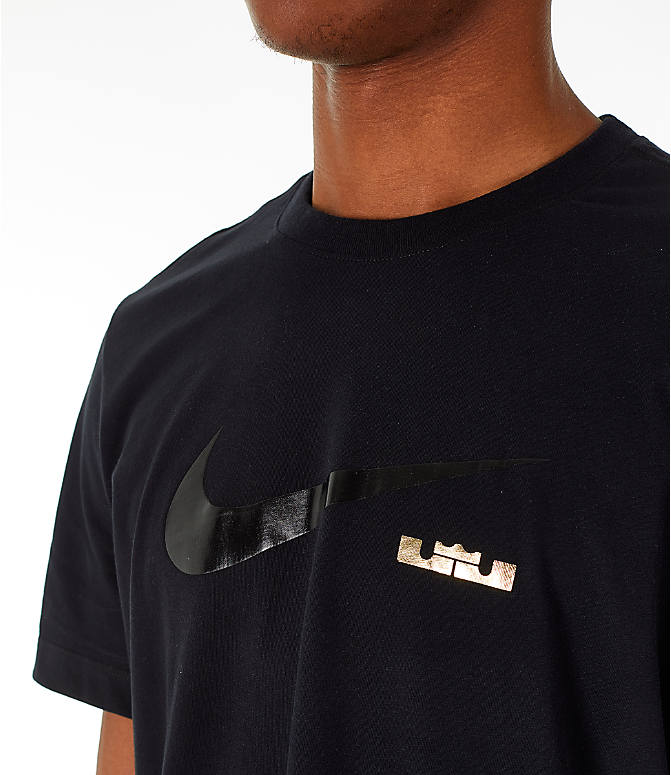 da7a61b0 Detail 1 view of Men's Nike LeBron James I'm King T-Shirt in