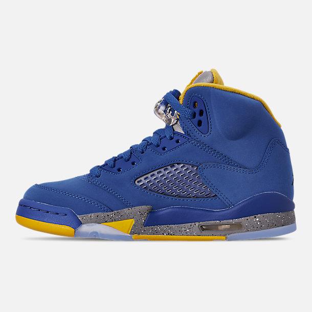 los angeles 20e3a 97680 Big Kids' Air Jordan Retro 5 Laney JSP Basketball Shoes