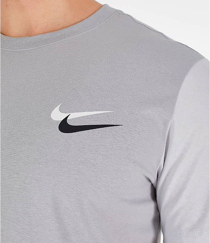 45802e05f Detail 1 view of Men's Nike Sportswear City Brights T-Shirt in Wolf Grey