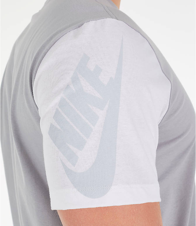 96439f5c776c Detail 2 view of Men s Nike Sportswear City Brights T-Shirt in Wolf Grey