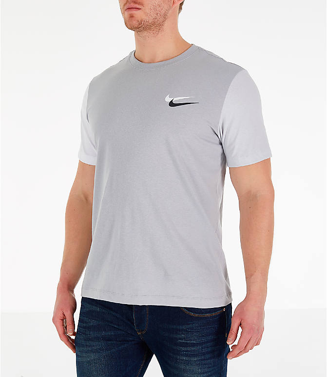 b6a5bb217 Front Three Quarter view of Men's Nike Sportswear City Brights T-Shirt in  Wolf Grey