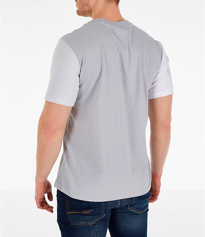 1d6f985cb Back Left view of Men's Nike Sportswear City Brights T-Shirt in Wolf Grey