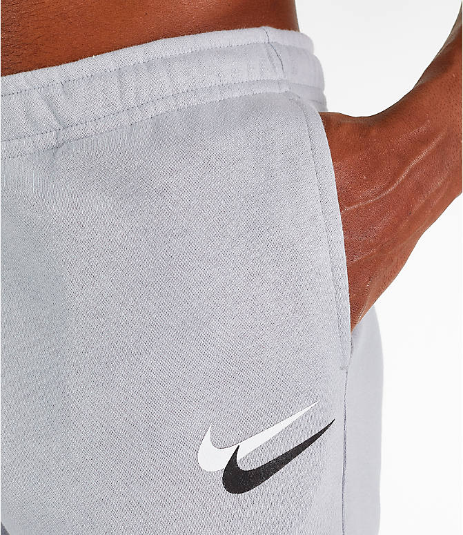 Detail 1 view of Men's Nike Sportswear Club City Brights Jogger Pants in Wolf Grey