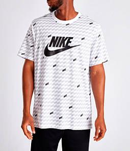 Men's Nike Sportswear Hybrid Allover Print T-Shirt