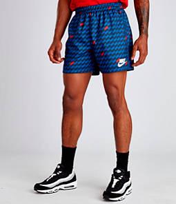 Men's Nike Sportswear Hybrid Allover Print Woven Shorts