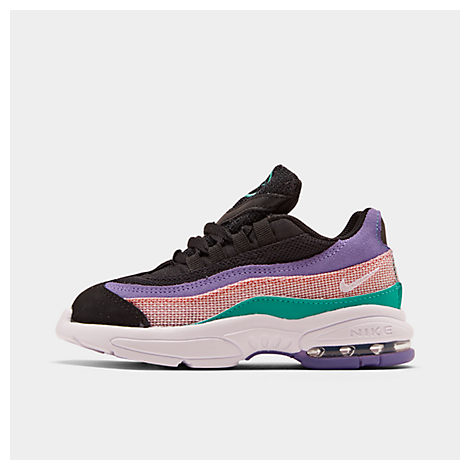 f9b58a37af Nike Boys' Toddler Air Max 95 Casual Shoes, Pink/Blue/Purple/Black ...