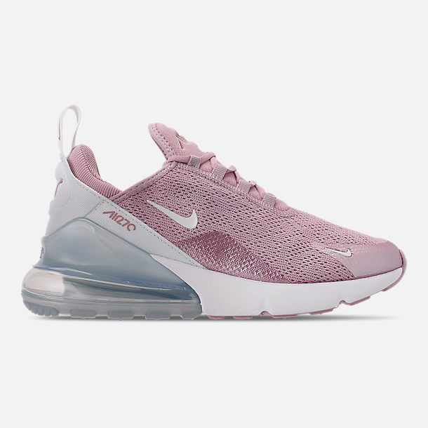 Right view of Women's Nike Air Max 270 Casual Shoes in Plum Chalk/Summit White/Metallic Silver