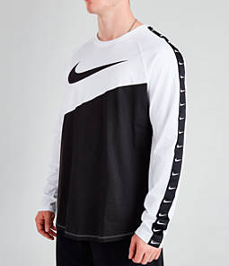 Men's Nike Sportswear Swoosh Long-Sleeve T-Shirt