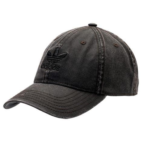 c38df73551a Adidas Originals Originals Precurved Washed Strapback Hat