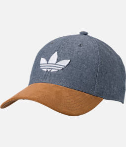 Men's adidas Originals Trefoil Plus Precurve Snapback Hat