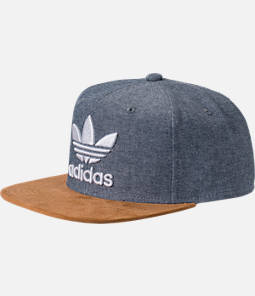 Men's adidas Originals Trefoil Plus Snapback Hat