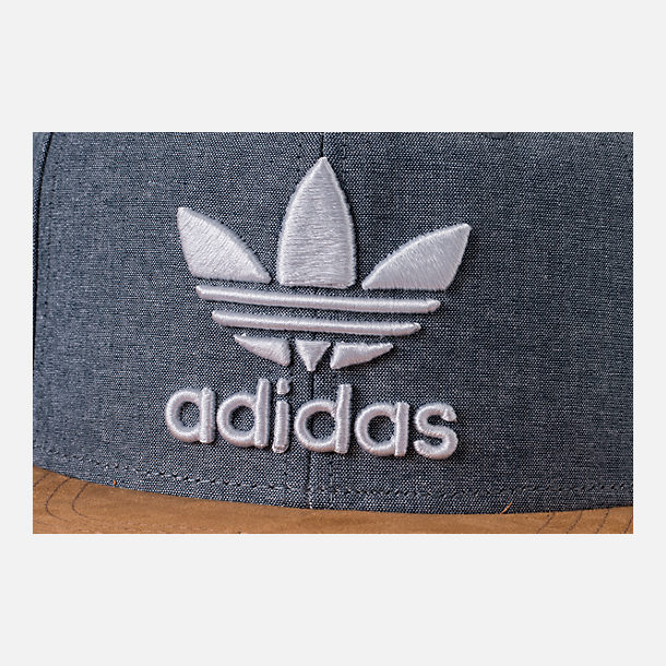 Alternate view of Men's adidas Originals Trefoil Plus Snapback Hat in Tan