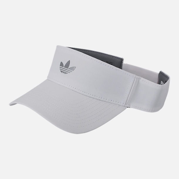 Front view of adidas Originals Modern Visor II in White