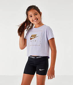 Girls' Nike Sportswear Air Crop T-Shirt
