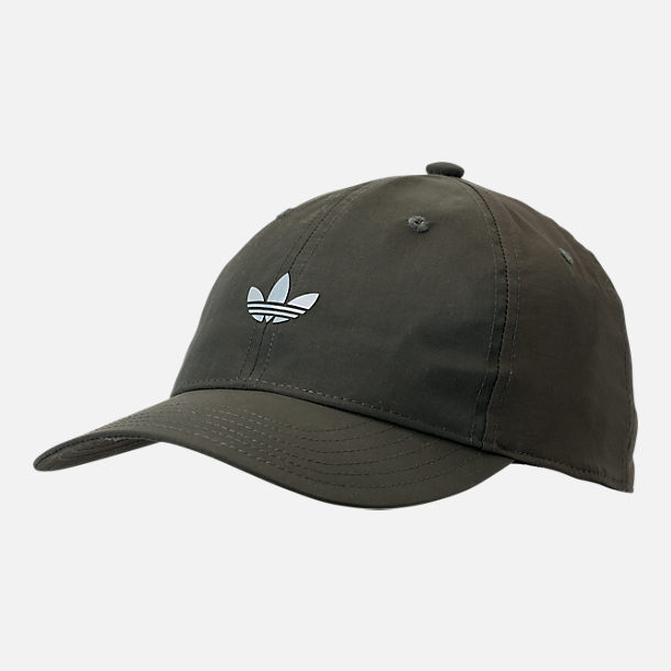 828d01705c2 Front view of Men s adidas Originals Modern II Relaxed Hat in Cinder