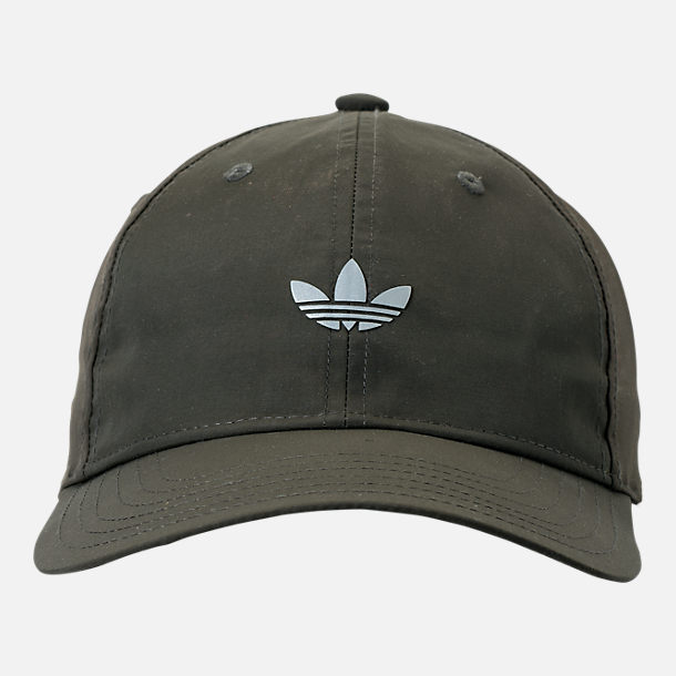 edca230bef7 Back view of Men s adidas Originals Modern II Relaxed Hat in Cinder