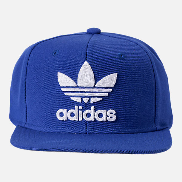 Originaux Adidas Lotier Cap Snapback - Bleu Adidas VN63WXjr2z