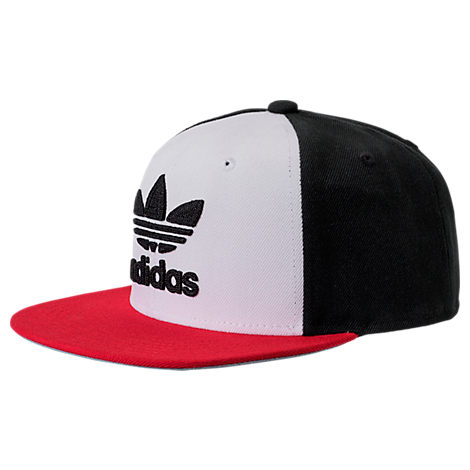 546aa0e4e43e9 ... discount code for adidas originals mens originals trefoil chain  snapback hat white e15d2 f677a