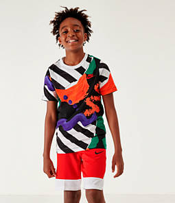 Boys' Nike Sportswear Allover Print Summer T-Shirt