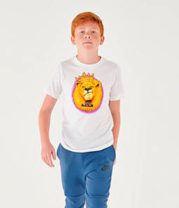 Boys' Nike Dri-FIT LeBron Lion Basketball T-Shirt