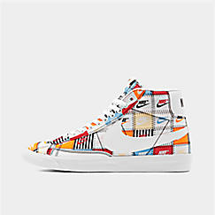 Men's Nike Blazer Mid Patchwork Casual Shoes