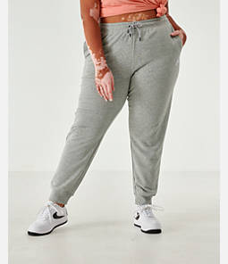 Women's Nike Sportswear Essential Jogger Pants - Plus Size