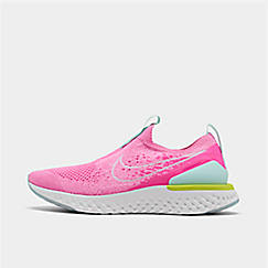 Girls' Big Kids' Nike Epic Phantom React Flyknit Running Shoes
