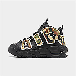Boys' Big Kids' Nike Air More Uptempo QS Basketball Shoes