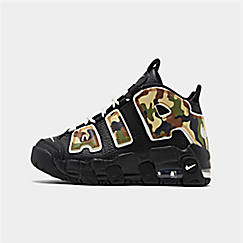 Boys' Little Kids' Nike Air More Uptempo QS Basketball Shoes