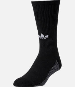 Men's adidas Originals 3 Stripes Single Crew Socks