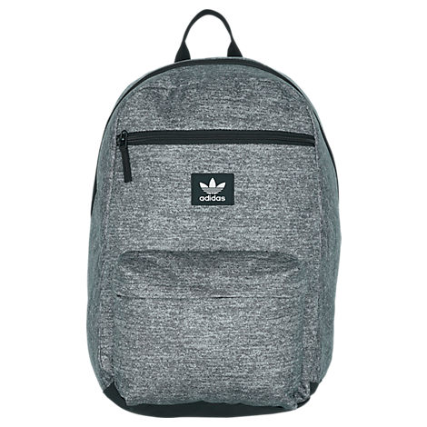 Adidas Original National Backpack - Black in Grey
