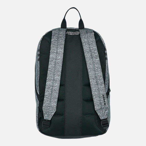 Back view of adidas Originals National Backpack in Onyx Jersey