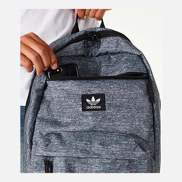 Alternate view of adidas Originals National Backpack in Onyx Jersey