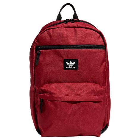 Adidas Original National Backpack - Red, Noble Maroon/ Black