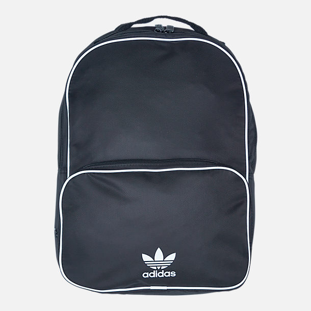 Front view of adidas Originals Santiago Backpack in Black