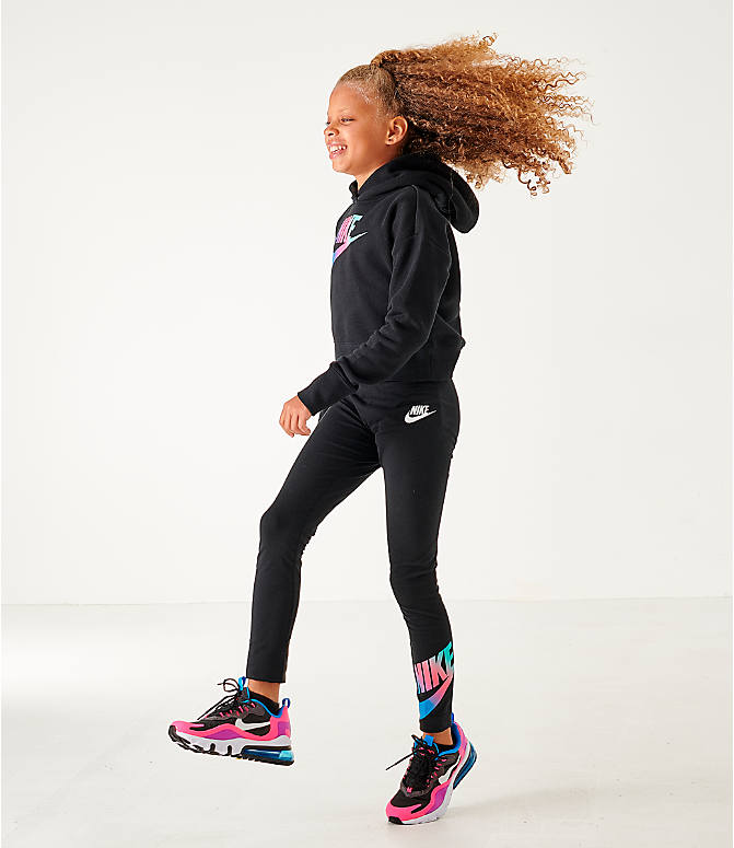 Girls' Nike Sportswear Cropped Hoodie